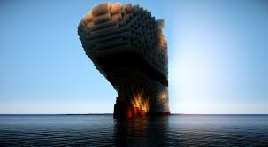 Minecraft Titanic Sinking Animation by 2 Sinking