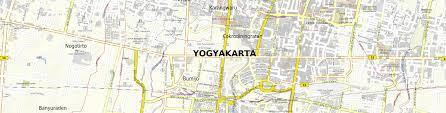Stadtplan Yogyakarta Zum Downloaden