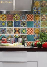 mexican inspired kitchen shop for talavera tiles here http