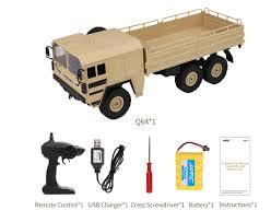 100 Rc Military Trucks JJRC Q64 116 24G 6WD Car Truck Offroad Rock Crawler