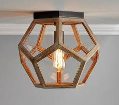 Pottery Barn Bedroom Ceiling Lights by Pentagon Prism Flushmount Pottery Barn Kids Pottery Barn And