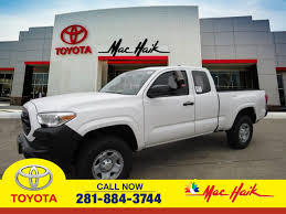 Toyota Model Research In League City, TX | MAC HAIK TOYOTA New 2018 Toyota Tacoma For Sale Lithonia Ga 3tmdz5bn9jm052500 Trucks For In Abbeville La 70510 Autotrader Used 2017 Access Cab Pricing Edmunds 2015 Toyota Tacoma Prunner Xspx Pkg Truck Sale Ami Roswell For Sale 2009 Trd Sport Sr5 1 Owner Stk P5969a Www Pro Photos And Info 8211 News Car 2000 Overview Cargurus 2005 Information 2010 4x4 Double Cab Georgetown Auto