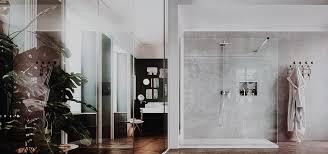 trend alert the concept of open walk in showers