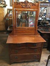 Tiger Oak Dresser With Swivel Mirror by Oak Victorian Antique Dressers U0026 Vanities Ebay