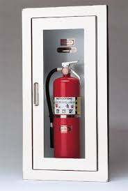 Nfpa 10 Fire Extinguisher Cabinet Mounting Height by Larsen U0027s Architectural Series Semi Recessed Fire Extinguisher Cabinets