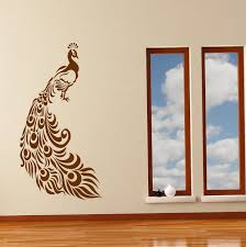 Peacock Wall Art Sticker