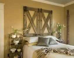 Rustic Bedroom Ideas For Inspiring Decor Old Fashioned Furniture And Wall Hangings With Sconces Also