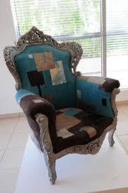 relooking fauteuil louis xv ch21 chaise italienne rechi doré à la feuille by morosof