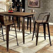 Details About Cooper II Pub Table, Brown N/A