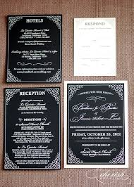 This Just In Black And White Wedding Invitations