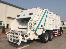 China Isuzu Garbage Truck With 20 Cubic Meter Box - China Garbage ...