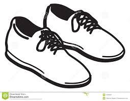 Karikaturabbildung Des Paars Schuhe Mit Spitzeen Getrennt Auf Wei223em