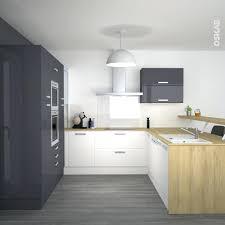 cuisine blanche design deco cuisine blanc et bois cuisine gris blanc et bois a deco
