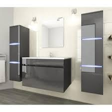 neptune ensemble salle de bain simple vasque l 80 cm avec