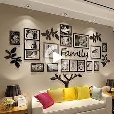 crazydeal stammbaum bilderrahmen collage 3d diy aufkleber
