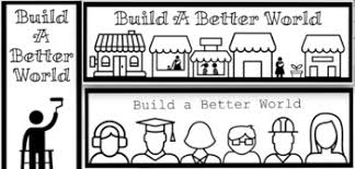Build A Better World Bookmarks Coloring Pages And Banners