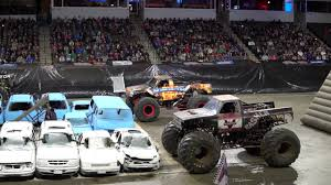 100 Monster Truck Engines Starting At Nationals Chicago 2018 YouTube