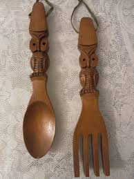 large wooden fork and spoon wall hanging 44 best vintage wood spoon fork images on vintage