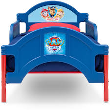 Toddler Bed Rails Walmart by Paw Patrol Plastic Toddler Bed Walmart Com