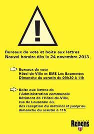 horaires bureaux de vote rappel de l horaire des bureaux de vote