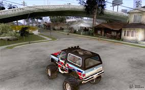 Monster Blazer | Www.topsimages.com Hilarious Gta San Andreas Cheats Jetpack Girl Magnet More Bmw M5 E34 Monster Truck For Gta San Andreas Back View Car Bmwcase Gmc For 1974 Dodge Monaco Fixed Vanilla Vehicles Gtaforums Sa Wiki Fandom Powered By Wikia Amc Pacer Replacement Of Monsterdff In 53 File Walkthrough Mission 67 Interdiction Hd 5 Bravado Gauntlet