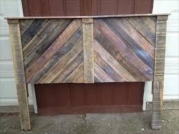 Pallet Wood Headboard Lush Ideas