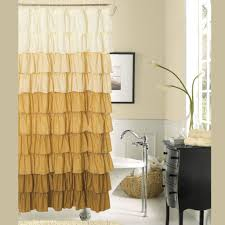 Gold And White Curtains Target by 15 Elegant Bathroom Shower Curtain Ideas U2013 Home And Gardening Ideas