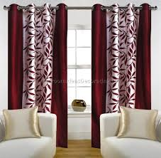 Sidelight Window Curtains Amazon by Maroon Curtains For Living Room Dark Maroon Rod Pocket Matka Raw