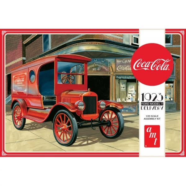 AMT 1/25 Coca Cola 1923 Ford Model T Delivery