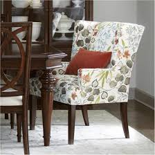 Grey Fabric Dining Chairs Beautiful Foxhunter Linen Scroll High Back ...