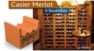 range bouteille en brique casier en terre cuite range bouteilles monde du vin