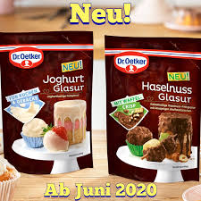 foodschau werbung dr oetker haselnuss glasur mit