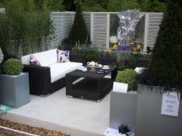 Small Patio And Deck Ideas by Exterior Marvelous L Shaped Wikcer Patio Deck Sofa Furniture