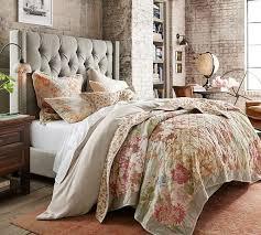 Carolina Floral Patchwork Reversible Quilt & Sham