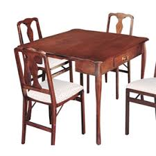 Stakmore Cherry Wood Extending Dining Table