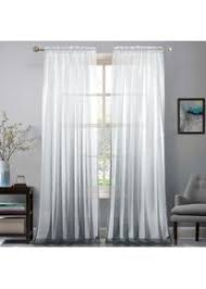 gwell farbverlauf transparent voile gardinen vorhang