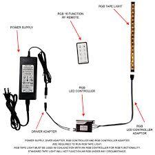 led light power supply 84 watt 12 volt