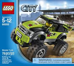 100 Biggest Monster Truck Magrudycom LEGO City 60055