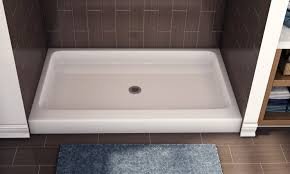 shower sp rectangular bases beautiful installing shower pan base