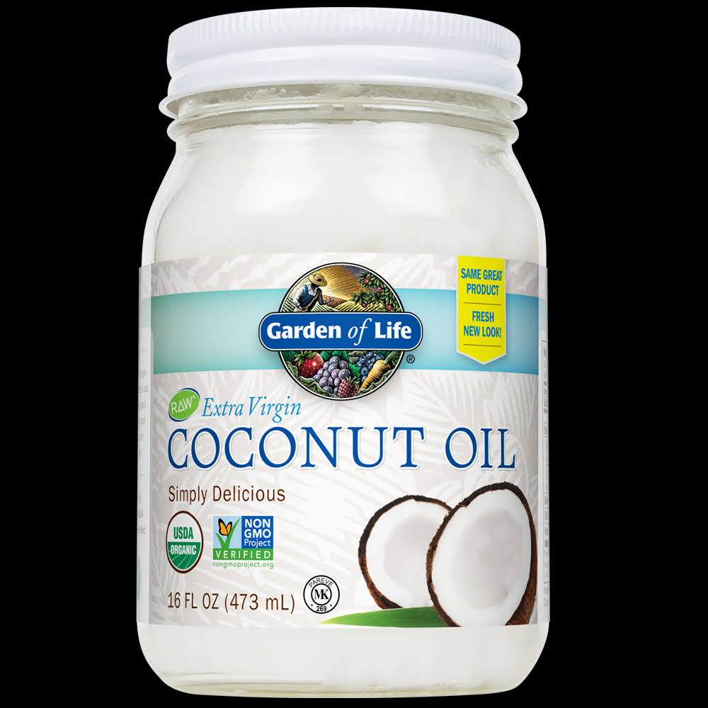 Living Foods Extra Virgin Organic Coconut Oil - 470ml