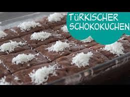 türkischer schokoladenkuchen islak kek
