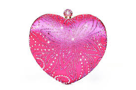 rhinestone purses heart wedding box clutch milanblocks u2013 milanblocks