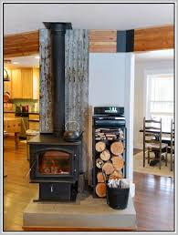 Wood Burning Stove Tile Surround Ideas