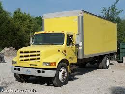 100 Truck For Hire 1996 International 4700 Box Truck Item DD9441 SOLD June