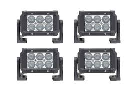 4 pack dual carbine 5 road led light bar stl