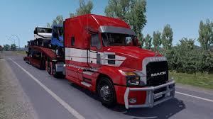 100 Euro Truck Simulator 3 ETS 2 Mod Mack Anthem 2018 V10 2 12x
