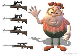 Carl Wheezer Rifle Left 4 Dead