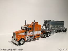 100 Toy Kenworth Trucks Diecast Replica Of TriState Commodities W900L Sh