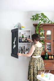 Locked Liquor Cabinet Furniture by Build A Vintage Inspired Liquor Cabinet U2013 A Beautiful Mess