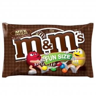 M&M's Milk Chocolate Candy - Fun Size